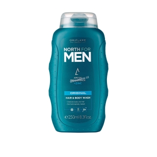 Oriflame šampon na vlasy a tělo 2 v 1 North for Men Original