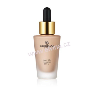 Oriflame make-up Giordani Gold Liquid Silk SPF 12 light ivory