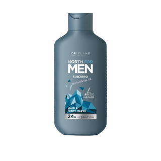 Oriflame šampon na vlasy a tělo North for Men Subzero