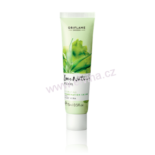 Oriflame oční gel s aloe vera Love Nature
